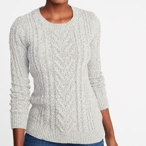 🎉5 for $25🎉 Old Navy Navy Gray Sweater